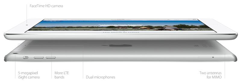 iPad Air слышит, откуда Вы